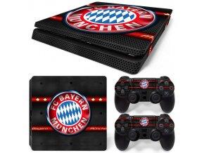 PS4 Slim Polep Skin FC Bayern Mnichov
