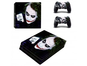 PS4 Pro Polep Skin Joker