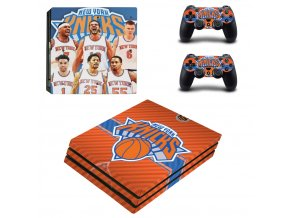 PS4 Pro Polep Skin New York Knicks
