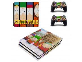 PS4 Pro Polep Skin South Park