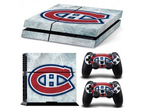 PS4 Polep Skin Montreal Canadiens