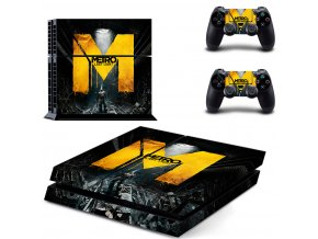 PS4 Polep Skin Metro Last Light