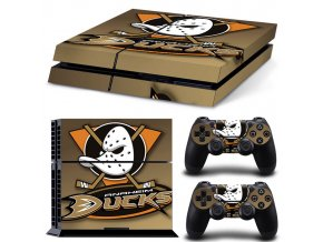 PS4 Polep Skin Anaheim Ducks