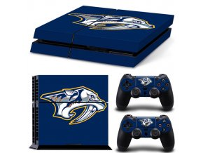 PS4 Polep Skin Nashville Predators