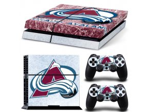 PS4 Polep Skin Colorado Avalanche