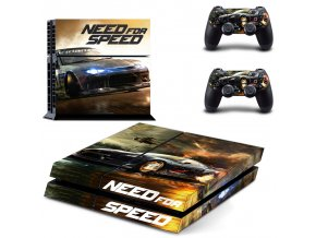 PS4 Polep Skin Need for Speed