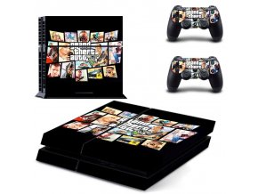 PS4 Polep Skin GTA 5