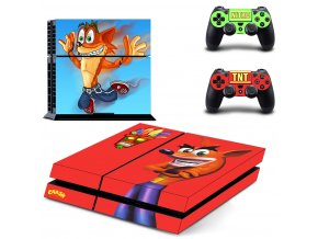 PS4 Polep Skin Crash Bandicoot