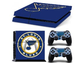 PS4 Polep Skin St. Louis Blues
