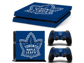 PS4 Polep Skin Toronto Maple Leafs