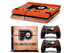 PS4 Polep Skin Philadelphia Flyers