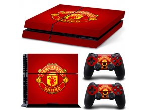 PS4 Polep Skin Manchester United FC