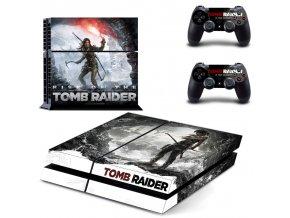 PS4 Polep Skin Tomb Raider