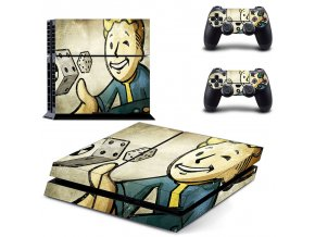 PS4 Polep Skin Fallout 4