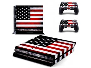 PS4 Polep Skin USA