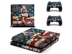 PS4 Polep Skin Made in USA
