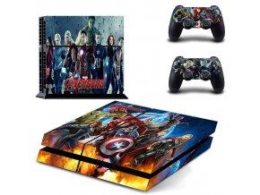 PS4 Polep Skin Avengers