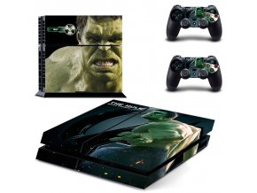 PS4 Polep Skin Avengers - The Hulk