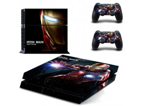 PS4 Polep Skin Avengers - Iron Man