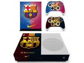Xbox One S Polep Skin FC Barcelona