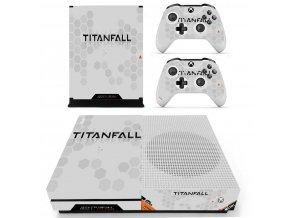 Xbox One S Polep Skin Titanfall