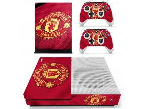 Xbox One S Polep Skin Manchester United FC
