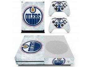 Xbox One S Polep Skin Edmonton Oilers