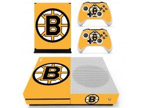 Xbox One S Polep Skin Boston Bruins