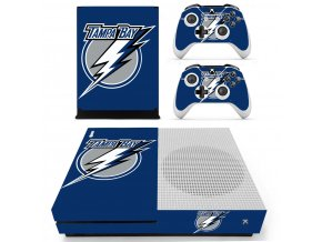 Xbox One S Polep Skin NHL - Tampa Bay Lightnings