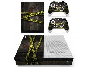 Xbox One S Polep Skin Crime Scene