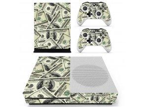 Xbox One S Polep Skin Money