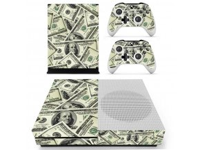 Xbox One S Polep Skin Money