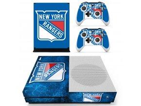 Xbox One S Polep Skin NHL - New York Rangers