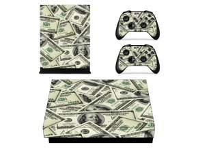 Xbox One X Polep Skin Money