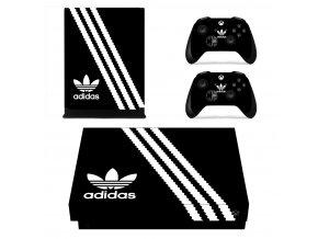 Xbox One X Polep Skin Adidas
