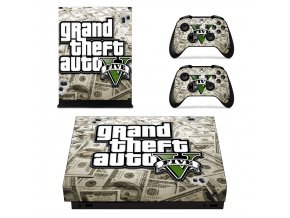 Xbox One X Polep Skin GTA 5