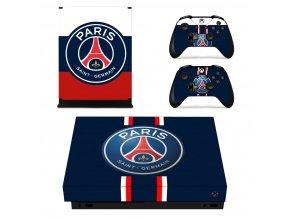 Xbox One X Polep Skin Paris Saint-Germain FC
