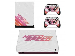 Xbox One X Polep Skin Need for Speed