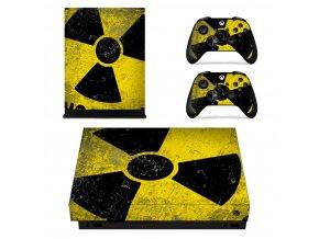 Xbox One X Polep Skin Toxic
