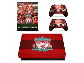 Xbox One X Polep Skin Liverpool FC