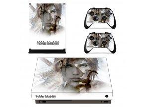 Xbox One X Polep Skin Tomb Raider