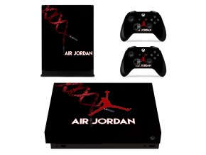 Xbox One X Polep Skin Air Jordan
