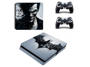 PS4 Slim Polep Skin Batman & Joker