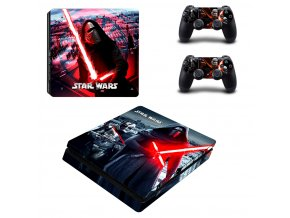 PS4 Slim Polep Skin Star Wars