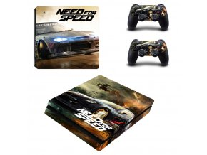 PS4 Slim Polep Skin Need for Speed
