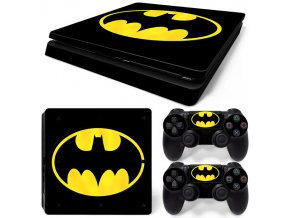PS4 Slim Polep Skin Batman