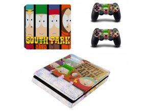 PS4 Slim Polep Skin South Park