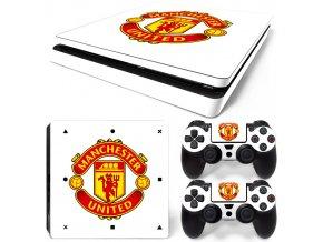 PS4 Slim Polep Skin Manchester United FC
