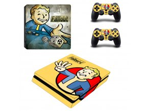 PS4 Slim Polep Skin Fallout 4