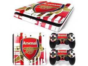 PS4 Slim Polep Skin Arsenal FC